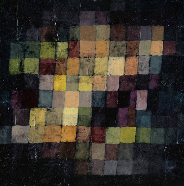 Wall Art - Painting - Ancient Sound by Paul Klee
