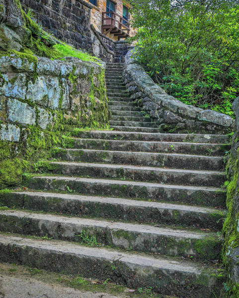 Photograph - Ancient Stairs by Dan Sproul