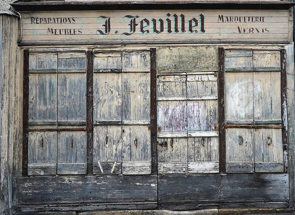 Photograph - Ancient Storefront by Andrew Fare