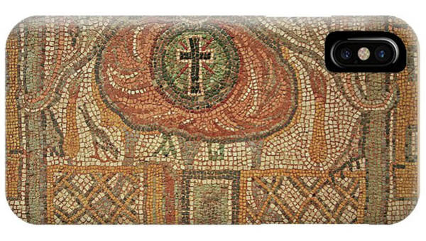 Photograph - Ancient Tile And The Cross by Darrel Giesbrecht