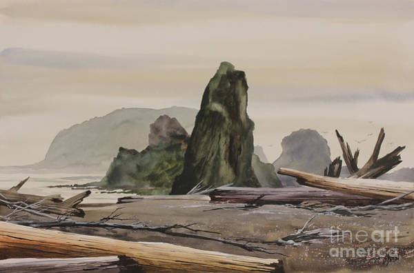 Wall Art - Painting - Ancient Wilderness by James Williamson