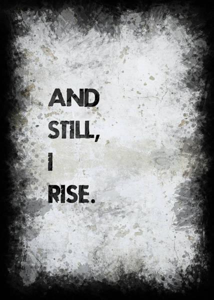 Wall Art - Photograph - And Still I Rise by Ricky Barnard