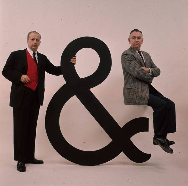 Photograph - And The Ampersand by Slim Aarons