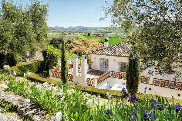 Wall Art - Photograph - Andalucia Bed Breakfast 1 by Timothy Hacker