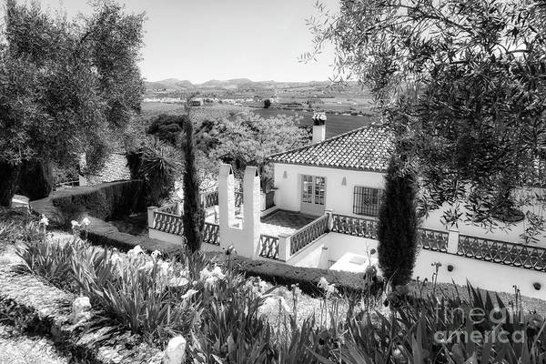 Wall Art - Photograph - Andalucia Bed Breakfast Bw by Timothy Hacker