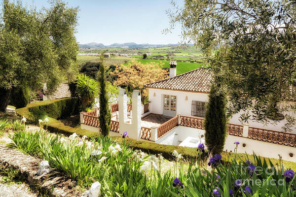 Wall Art - Photograph - Andalucia Bed Breakfast by Timothy Hacker