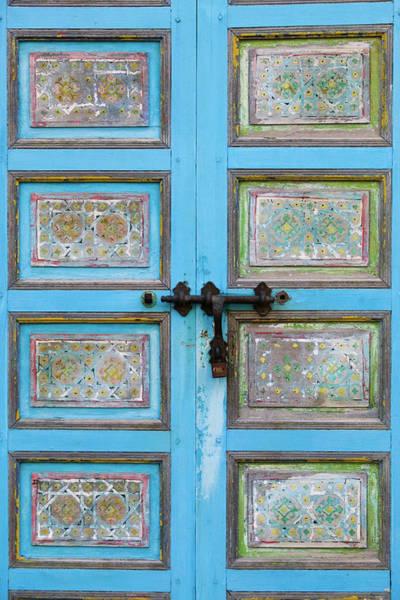 Casbah Photograph - Andalusian Gardens Door, Kasbah Of The by Danita Delimont