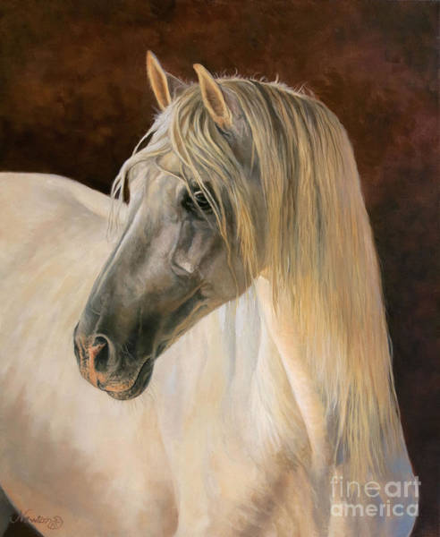 Wall Art - Painting - Andalusion by Jeanne Newton Schoborg