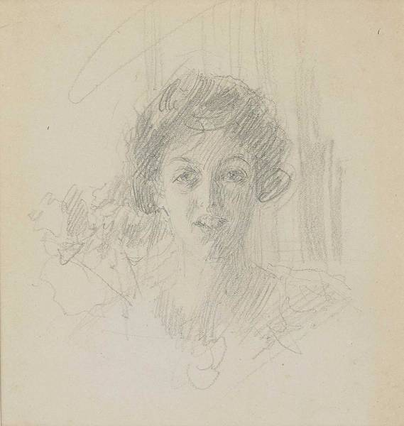 Wall Art - Painting - Anders Zorn 1860-1920 Miss Wheeler by Anders Zorn