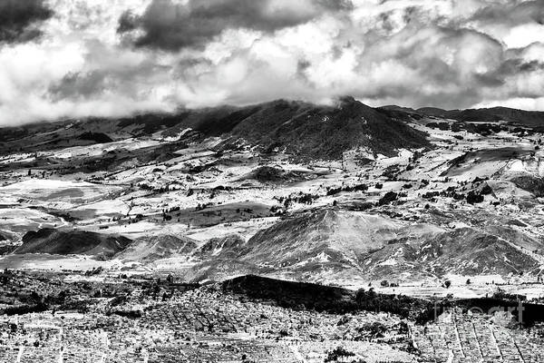 Photograph - Andes View From Monserrate Bogota by John Rizzuto