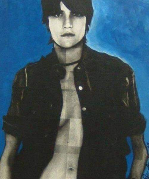 Wall Art - Painting - Andi by Jennifer Kleinsteuber