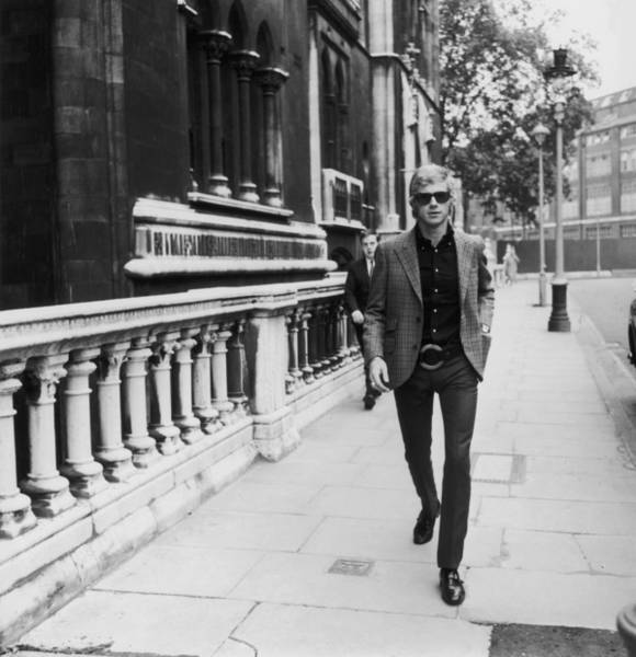 Photograph - Andrew Loog Oldham by Evening Standard