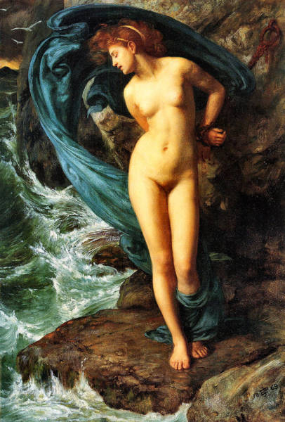 Painting - Andromeda by Sir Edward Poynter
