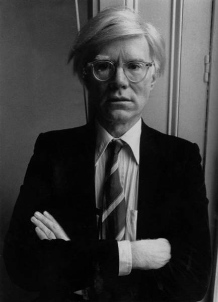 Motion Photograph - Andy Warhol by John Minihan