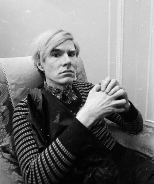 Carlton Hotel Photograph - Andy Warhol by Powell