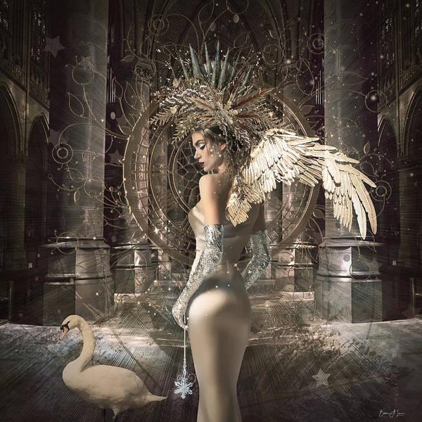 Digital Art - Angel Alchymie by Barbara A Lane