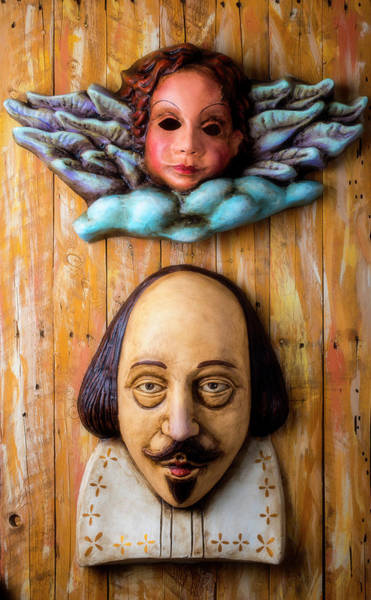 Wall Art - Photograph - Angel And Shakespeare by Garry Gay