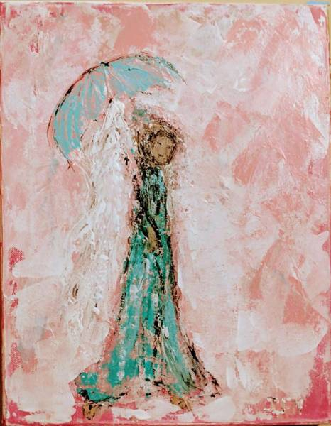 Painting - Angel By Your Side by Jennifer Nease