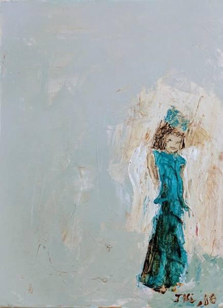 Painting - Angel Child by Jennifer Nease
