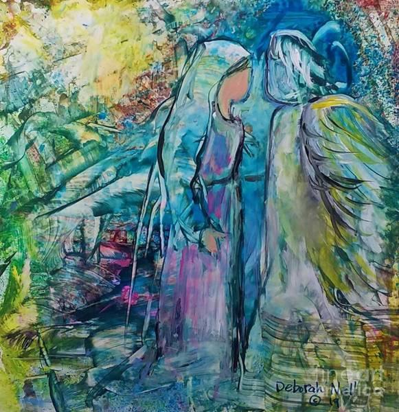 Painting - Angel Encounter by Deborah Nell