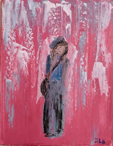 Painting - Angel For Peer Pressure by Jennifer Nease