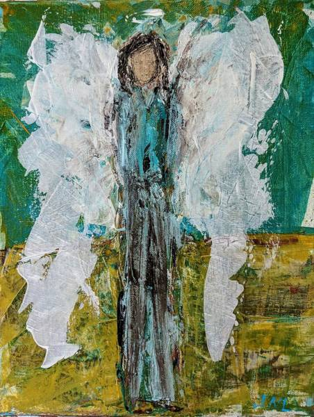 Painting - Angel For Armed Forces by Jennifer Nease