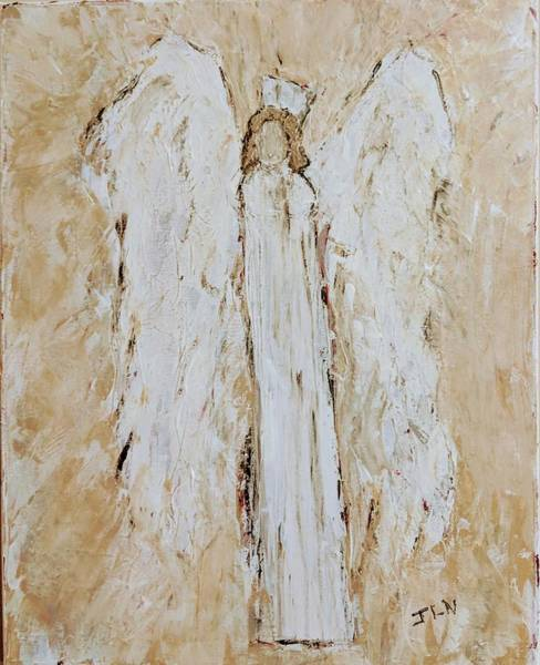 Painting - Angel For Care by Jennifer Nease