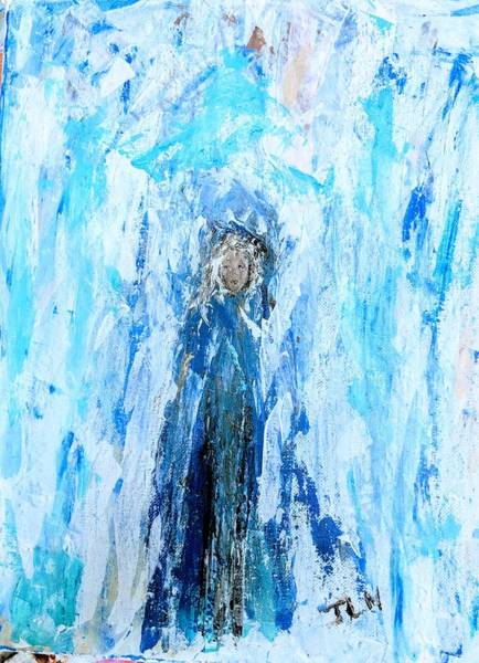 Painting - Angel For Chaos by Jennifer Nease