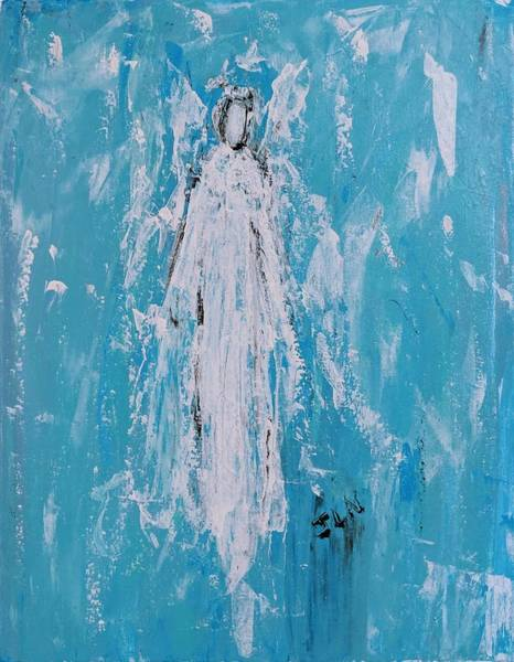 Painting - Angel For Grievance by Jennifer Nease