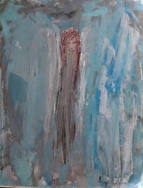 Painting - Angel In The Clouds by Jennifer Nease