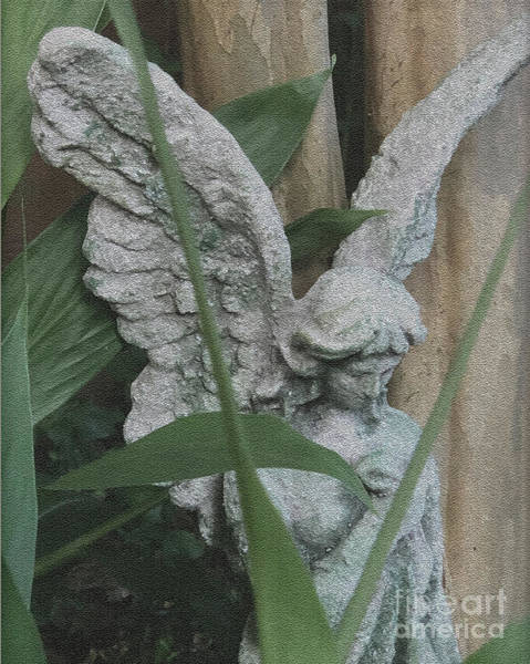 Wall Art - Photograph - Angel In The Garden by Robbie Bellamy