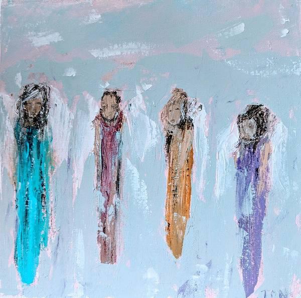 Painting - Angel Messengers by Jennifer Nease