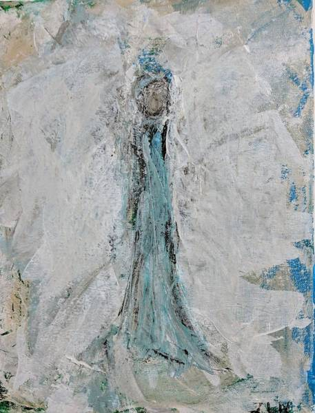 Painting - Angel Of Faith by Jennifer Nease