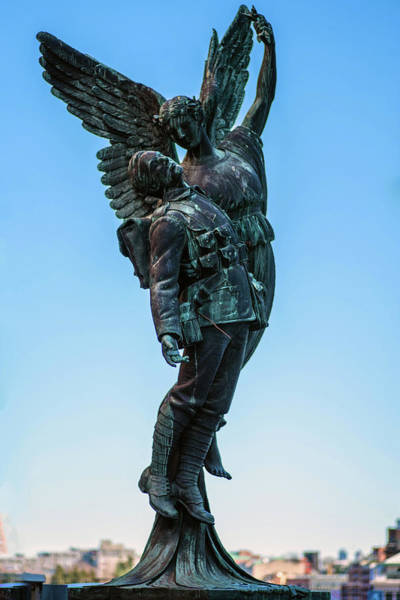 Photograph - Angel Of Victory by Ross G Strachan