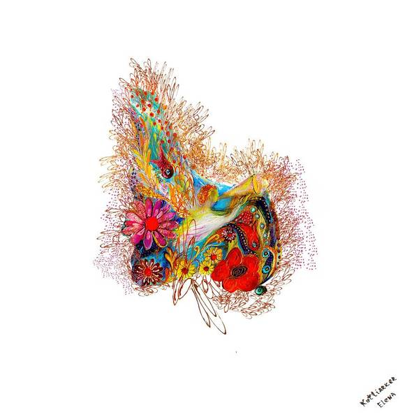 Wall Art - Digital Art - Angel Series #1 by Elena Kotliarker