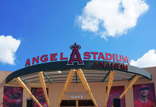 Wall Art - Photograph - Angel Stadium Of Anaheim by Art Spectrum