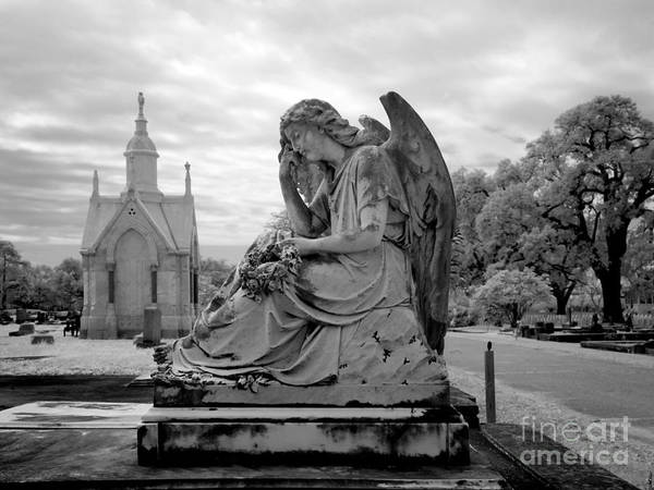 Photograph - Angel Tombstone, 2010 by Carol Highsmith