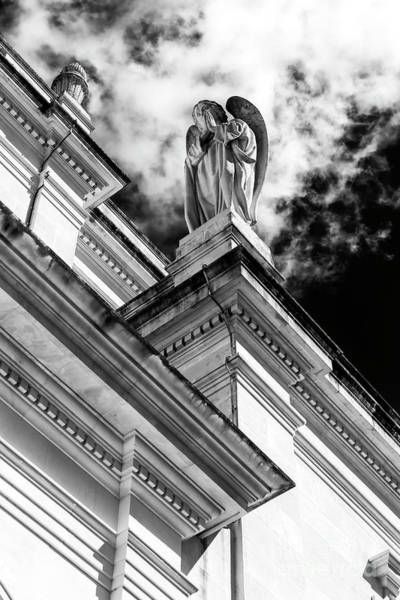 Photograph - Angel Watching Over Fatima by John Rizzuto