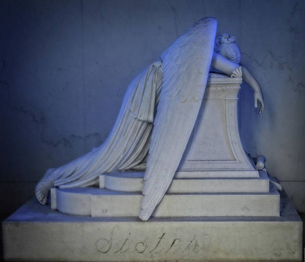 Photograph - Angel Weeping by Maggy Marsh