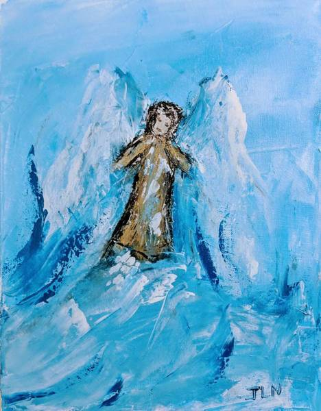 Painting - Angel With A Purpose by Jennifer Nease