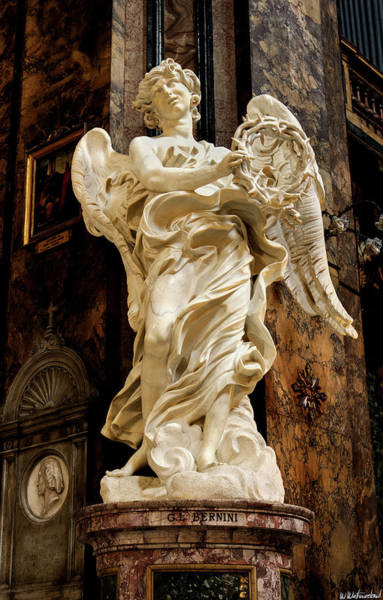 Photograph - Angel With The Crown Of Thorns - Bernini by Weston Westmoreland