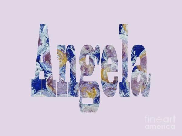 Digital Art - Angela by Corinne Carroll
