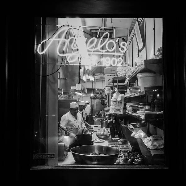 Wall Art - Photograph - Angelo's Of Mulberry Street by Michael Gerbino