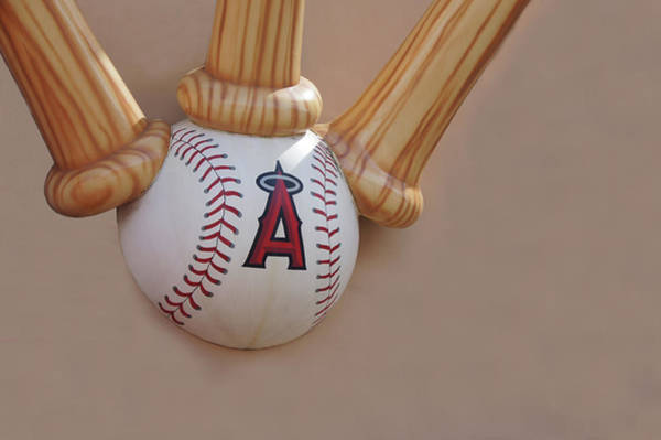 Wall Art - Photograph - Angels Baseball, Anaheim by Art Spectrum