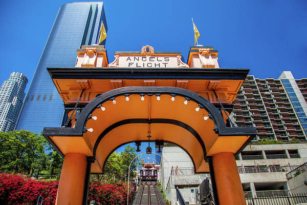 Office Buildings Wall Art - Photograph - Angels Flight by Az Jackson