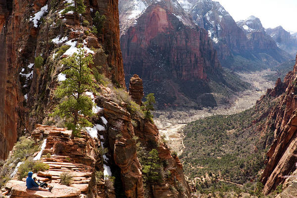 George Canyon Photograph - Angels Landing by Msrphoto