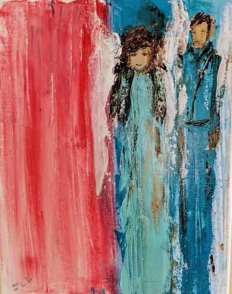 Painting - Angels Military by Jennifer Nease