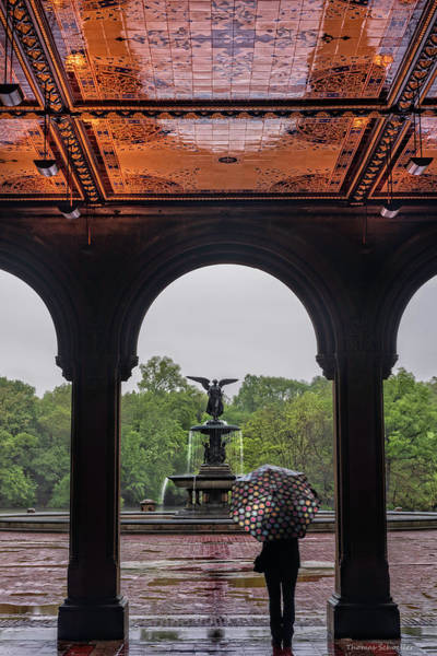 Photograph - Angels Of Water - Bethesda Terrace  by T-S Fine Art Landscape Photography