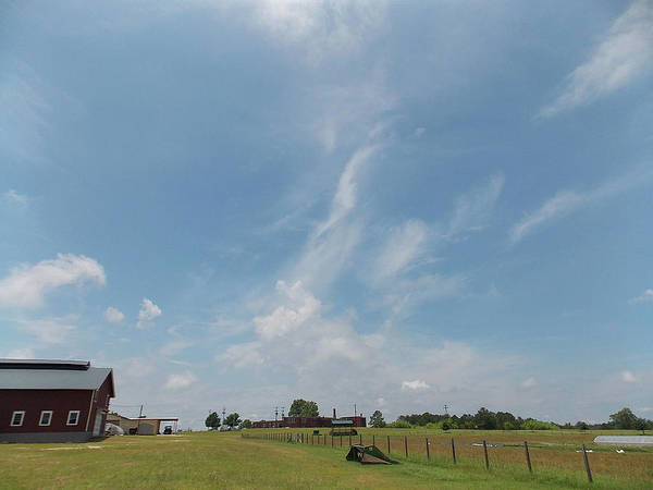 Wall Art - Photograph - Angels Over Old Farm by Matthew Seufer