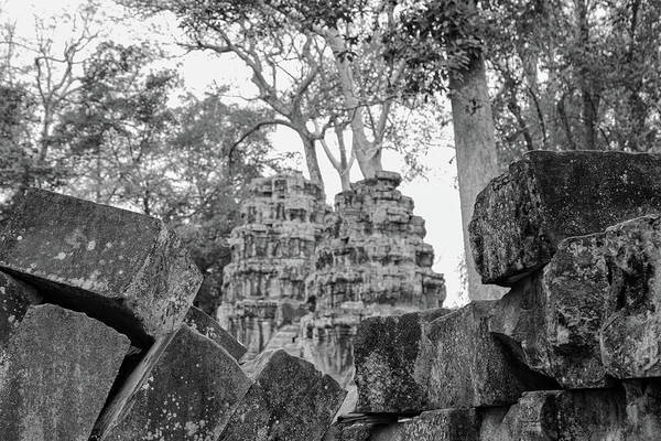 Photograph - Angkor Temple by Georgia Fowler